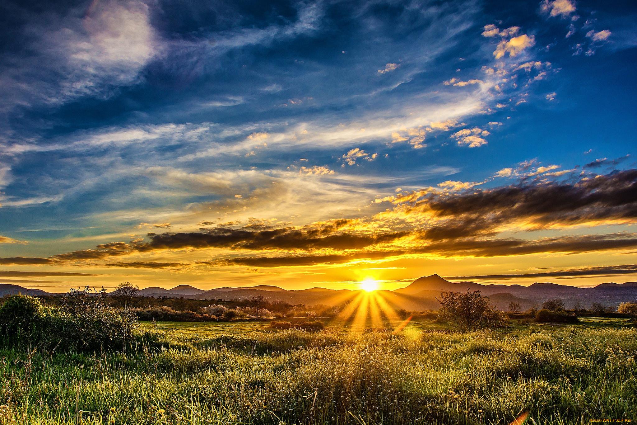 популярный фото рассвет восход солнца если